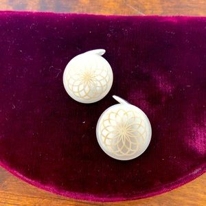 Antique Button Cuff Links